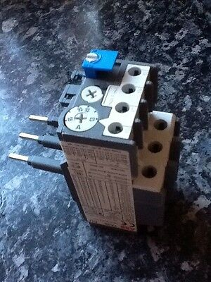 ABB TA25 Thermal Overload Relay TA25DU-1.8 1.3-1.8A Overload