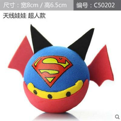 Lovely Car Antenna Toppers Superman Car and Interior