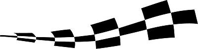 2 x chequered flag vinyl stickers graphics car side decals fun racing bg20