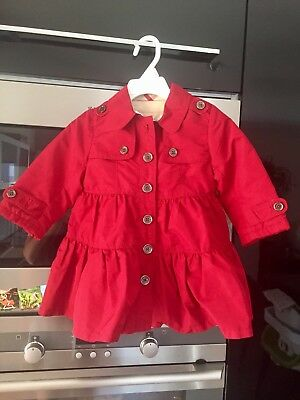 Burberry Girls Coat Age 12 Months