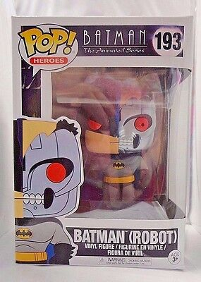 BATMAN (ROBOT) 193 Funko POP Batman The Animated Series vinyl figure New Package