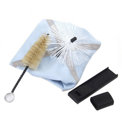 Saxophone Sax Cleaning Kit Swab Brush Set of 4pcs A4I5