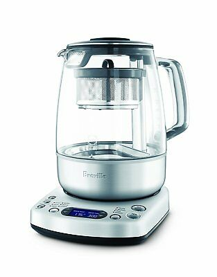 Breville One-Touch Tea Maker Machune with Tea Basket Cycle 60 Minutes Keeps Warm