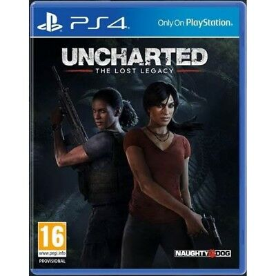 Uncharted The Lost Legacy PS4 Game - Brand New!