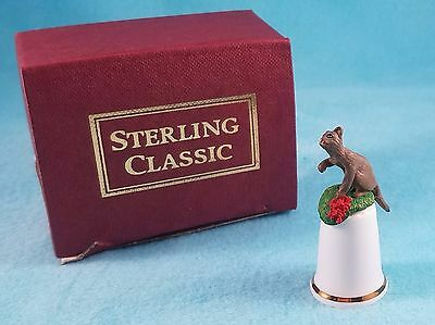 STERLING CLASSIC - Cats Collection - Burmese Cat - Thimble