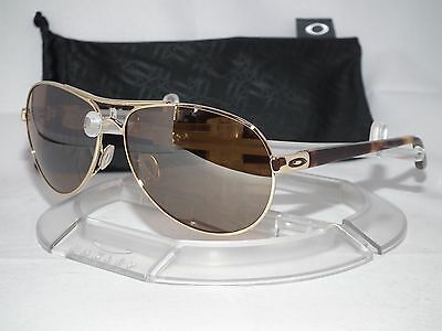 Oakley Feedback Aviator Sunglasses OO4079-04 Polished Gold / Tungsten Iridium