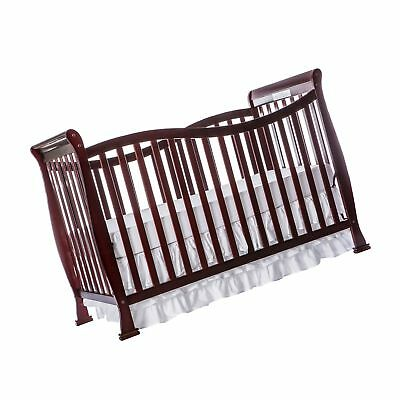 Dream On Me Violet 7 in 1 Convertible Life Style Crib Cherry