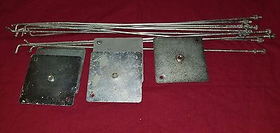 5 Vendesign lid plates and brackets