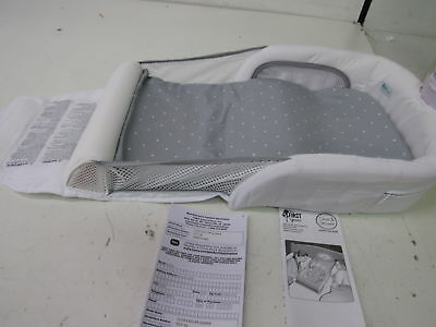 The First Years Close And Secure Sleeper Y3171 White/Grey/White Polka Dots