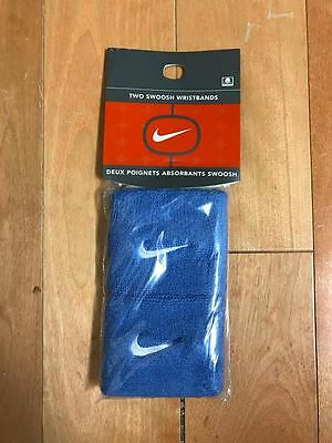 Nike Wristbands Sweatbands Wristband Wrist Band Carolina Baby Blue  Ac0009-403