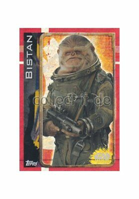 Topps Star Wars - Rogue One - 164 - Bistan - Holo