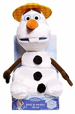 Disney Frozen Sing and Swing - Peluche a forma di Olaf