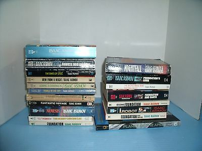 Lot Of 18 Isaac Asimov Sci-Fi*prelude To Foundation*second Foundation*nemesis