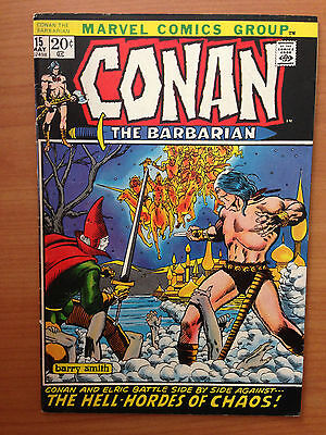 Conan the Barbarian #15 (Marvel) - ELRIC Barry Windsor Smith BWS