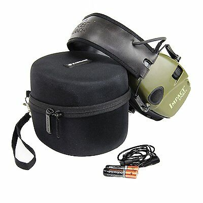Caseling HARD CASE for HOWARD LEIGHT Impact Sport OD Electric Earmuff