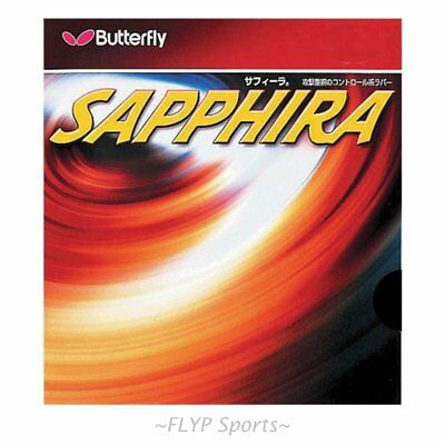 Butterfly Table Tennis Rubber Sapphira Ping Pong All-Round Made in Japan Offence