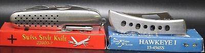Lot Of 4-FROST CUTLERY Folding Pocket Knife Knives (3468) ASSORTED