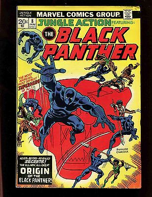Jungle Action #8 FN- Black Panther Origin Venomm 1st Full Malice Kill-Monger