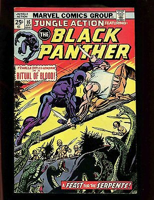 Jungle Action #16 FN- Kane Graham Black Panther Killmonger Venomm Avengers