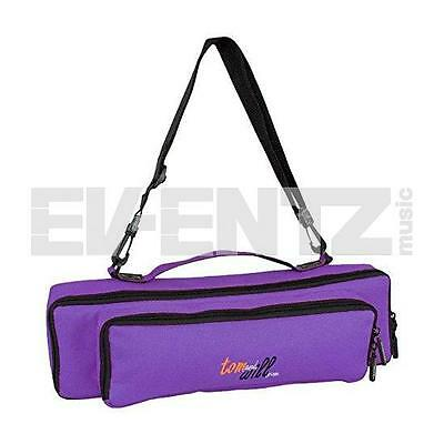 Tom & Will flute & piccolo piggyback case cover Purple