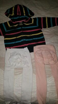 baby girls bonds ruffle bums hoodie hardly worn excellent condition sz 1