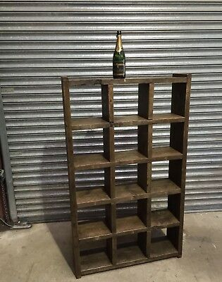 The Standard! Industrial Up-Cycled Pigeon Hole Shelving Unit