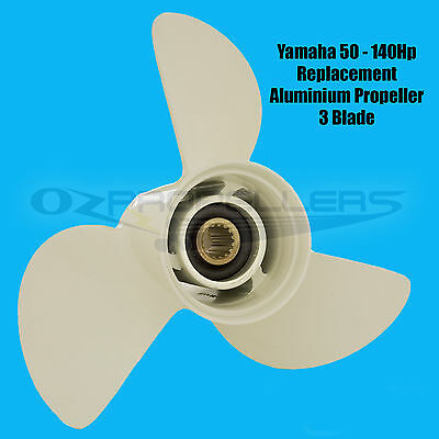 Yamaha 13 5/8 x 13 K PROP PROPELLER NEW SUITS  50-70-80-90-100-115-140HP