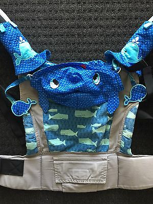 Tula Baby Carrier Whales Full Accessories - vintage! excellent Condition