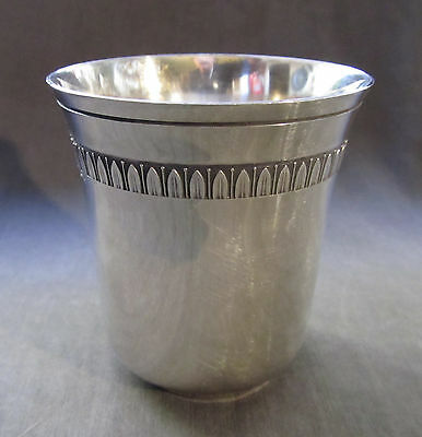 Vintage Christofle Sterling Malmaisson Baby Cup 7cm