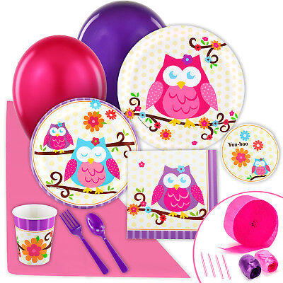 Owl Blossom Value Party Pack