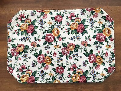 Longaberger GARDEN SPLENDOR Set of 2 Reversible Placemats