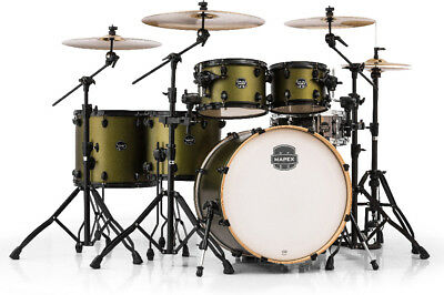 Mapex AR628SFUBGM Armory Series 6 Pc Studioease Shell Pack in Green Mantis