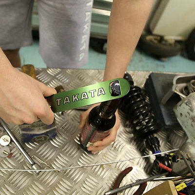 Official Takata Racing Green Stainless Steel Bottle Opener * New Out *