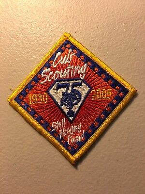 Boy Scouts of America BSA Cub Scouting Scout 75Th Anniversary Patch
