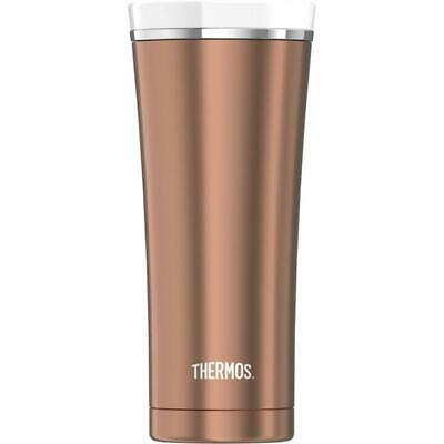 Isolierbecher Premium rose gold white 0,47 ltr Thermos Edelstahl doppelwandig