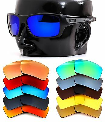 Polarized IKON Iridium Replacement Lenses For Oakley Turbine Sunglasses