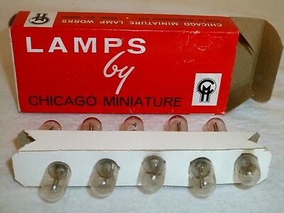 Qty 10 Type NE-51 Neon lamps NIB made by Chicago Miniature Lamps
