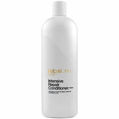 Brand New Label.m Intensive Repair Conditioner 1000ml Damaged/Coarse Hair RRP£34