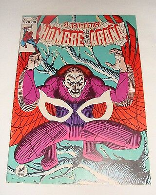 Amazing Spider-Man 7 2nd Appearance of the Vulture in Spanish/ Hombre Arana 1986