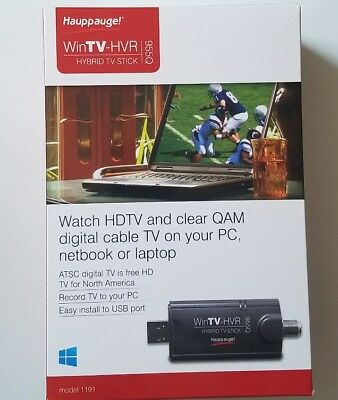 Hauppauge WinTV-HVR 955Q USB TV Tuner For Notebook Laptop Pc Model 1191 New