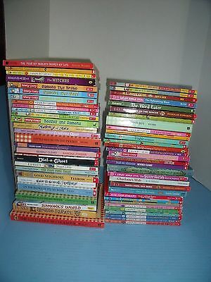 Lot Of 59 Children's Chapter Books*puppy Patrol*abby Hayes*beverly Cleary*others