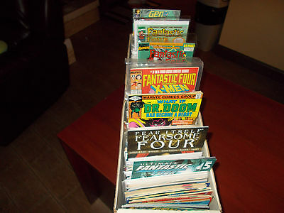 Lot of 50 DIFFERENT ALL Fantastic Four Titles Comic Book Human Torch Grab Bag