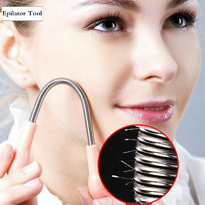 Facial Hair Removal Threading Spring Remover Painless Epilator Twist Beauty Tool