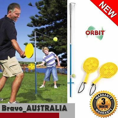 Orbit Deluxe Totem Tennis Outdoor Sports Game Set Bat Ball on String Pole