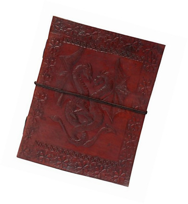 Zap Impex Double Dragon Leather Journal Bound Handmade Diary Gift Book Sketchboo