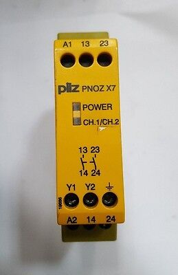 PILZ PNOZ X7 110VAC 2N/0 774053 Safety Relay (R1S8.5B2)