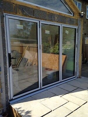 Rosewood bifold upvc doors picclick uk for Quality patio doors