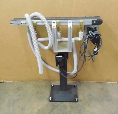 "No Name 3.5""x36"" Electric Variable Speed Vacuum Belt Conveyor 120V 0-400Fpm"