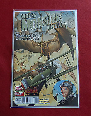 Where Monsters Dwell - Issue 1 - Garth Ennis - 1st Print - Marvel Comics