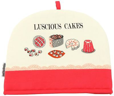 Good Housekeeping Tea Cosy Luscious Cakes Red